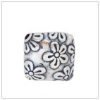 Square Batik Bead BB2501