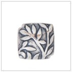 Square Batik Bead BB2503