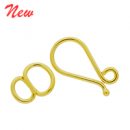 Vermeil Simple Hook Clasp CS5504-V