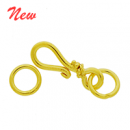 Vermeil Simple Hook Clasp CS5526-V
